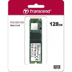 Transcend Dysk SSD 110S 128GB 2280 M.2 NVMe PCIe Gen3 x4