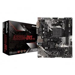 ASRock Płyta główna A320MDVS R4.0 AM4 2DDR4 DSUB DVI USB 3.1 micro ATX