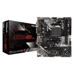 ASRock Płyta główna A320MHDV R4.0 AM4 2DDR4 DSUB DVI HDMI m.2 mATX