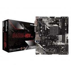 ASRock Płyta główna B450MHDV R4.0 AM4 2DDR4 VGA DVI HDMI M.2 uATX