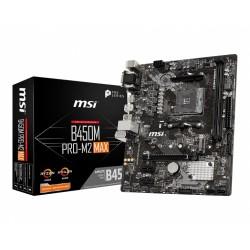 MSI Płyta główna B450M PROM2 MAX AM4 2DDR4 DVI VGA HDMI M.2 uATX