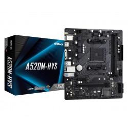 ASRock Płyta główna A520MHVS AM4 2DDR4 HDMI VGA M.2 mATX