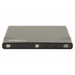 LiteOn Nagrywarka zewnętrzna eBAU108 Slim DVD USB czarna
