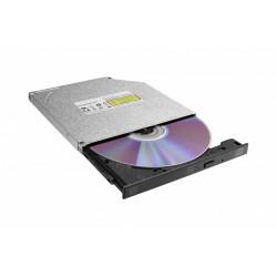 LiteOn Nagrywarka wewnętrzna 9,5 mm DU8AESH Ultraslim DVD SATA czarna