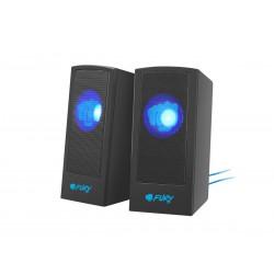 NATEC Głośniki 2.0 Fury Skyray czarno-niebieskie
