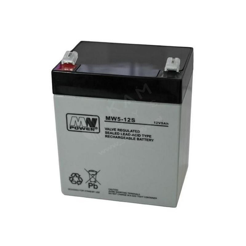 Akumulator 12V 5Ah żelowy
