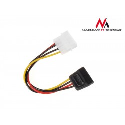 Maclean Kabel adapter zasilania Molex SATA MCTV-63