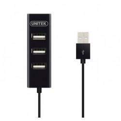 Unitek Hub 4x USB 2.0,...