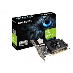 Gigabyte Karta graficzna GT710 2GB DDR3 64BIT DVI|HDMI|DSUB
