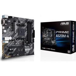 Asus Płyta główna A520MA AM4 4XDDR4 M.2 DVI DSUB HDMIB uATX