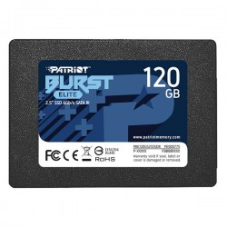 Patriot SSD 120GB Burst Elite 450|320MB|s SATA III 2.5