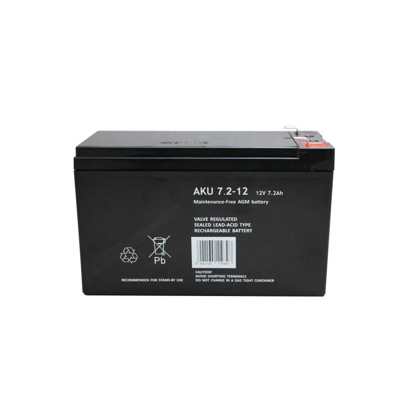 Akumulator 12V 7.2Ah żelowy MWS AGM
