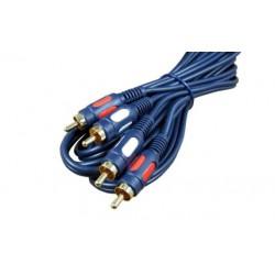 VITALCO kabel przewód 2x rca chinch 1,0m