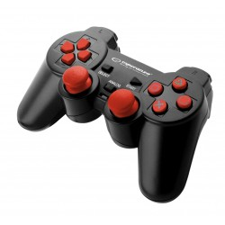 Esperanza GAMEPAD PS3|PC USB TROOPER CZARNO|CZERWONY