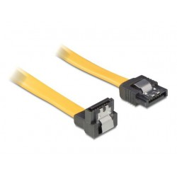 Delock Kabel SATA II (3Gbps) 70cm (metalowe zatrza