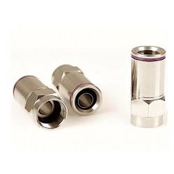 Wtyk Złącze typu F 6,8mm SAMOZACISKOWY Uszczelką
