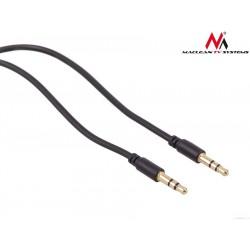 Maclean Przewód jack 3.5mm wtyk-wtyk 1.5m czarny M