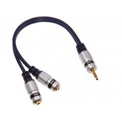 Rozdzielacz słuchawek JACK 3,5mm stereo VEOZ