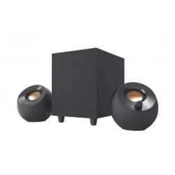 Creative Labs Głośniki Pebble Plus 2.1 USB czarne