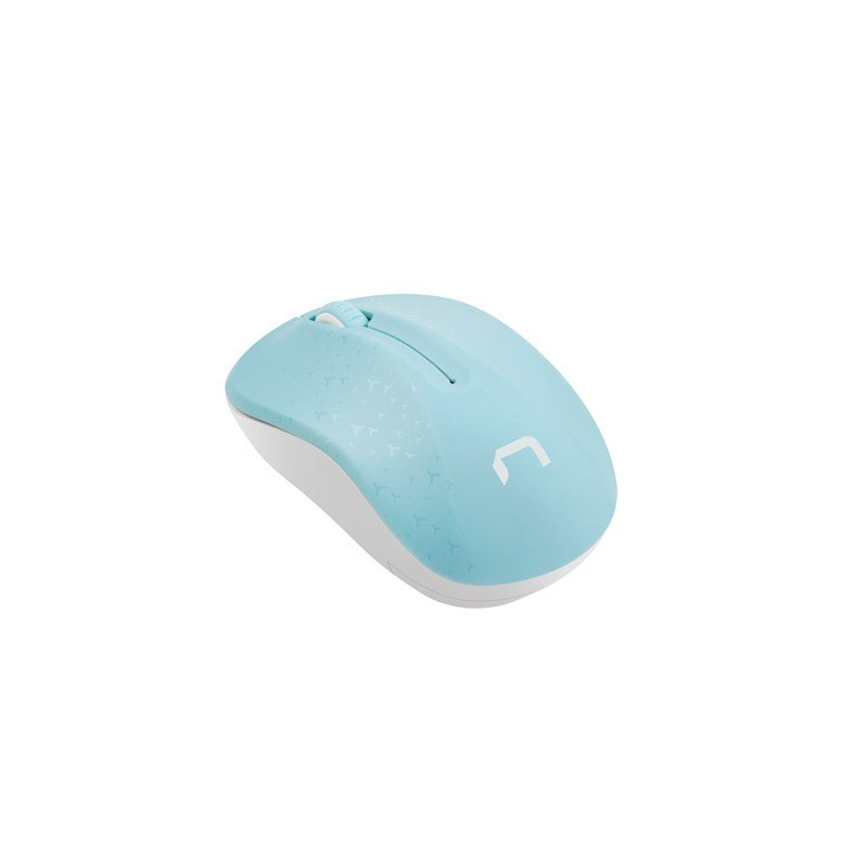 NATEC Mysz bezprzewodowa Toucan Niebiesko-biała