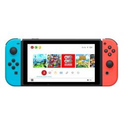 Nintendo SWITCH Neon Red Blue Joy-Con 2019