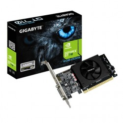 Gigabyte Karta graficzna GeForce GT710 2GB DDR5 64BIT DVI|HDMI|Low Profile
